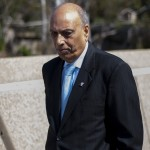 Former Southwestern College superintendent Raj K. Chopra appeared at the Chula Vista Courthouse on Friday, April 12, 2013. Judge Ana España set the trial date for Chopra and the 15 defendants to begin on Feb. 18, 2014.
