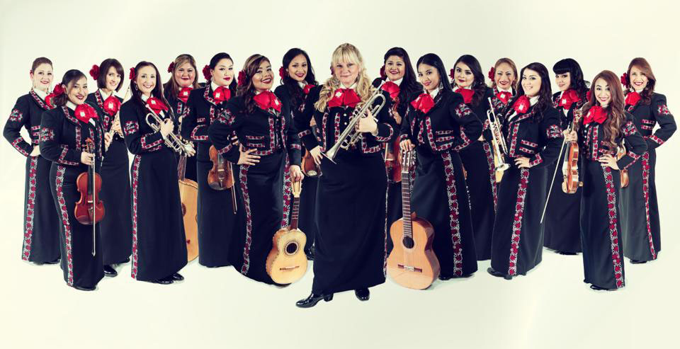GLASS CEILING BREAKERS – Men have dominated Mariachi for decades, but no more. Mariachi's new rulers are women. Mariachi Divas, featuring SWC alumnae Jillian Kardell, recently won a Grammy award.   Courtesy Photo