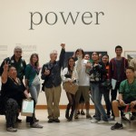 Photography is power - Instructor Todd Stands with the SWC photo students at MOPA (Museum of Photographic Arts). Photo by Marianna Saponara.