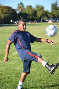 WELL ROUNDED- Joe Chavez is an olympian, an influential leader on campus and role model.