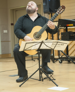 MASTERFUL - Pablo Gomez shows an enraptured audience just how magical the guitar can be. PHOTO BY April Abarrondo