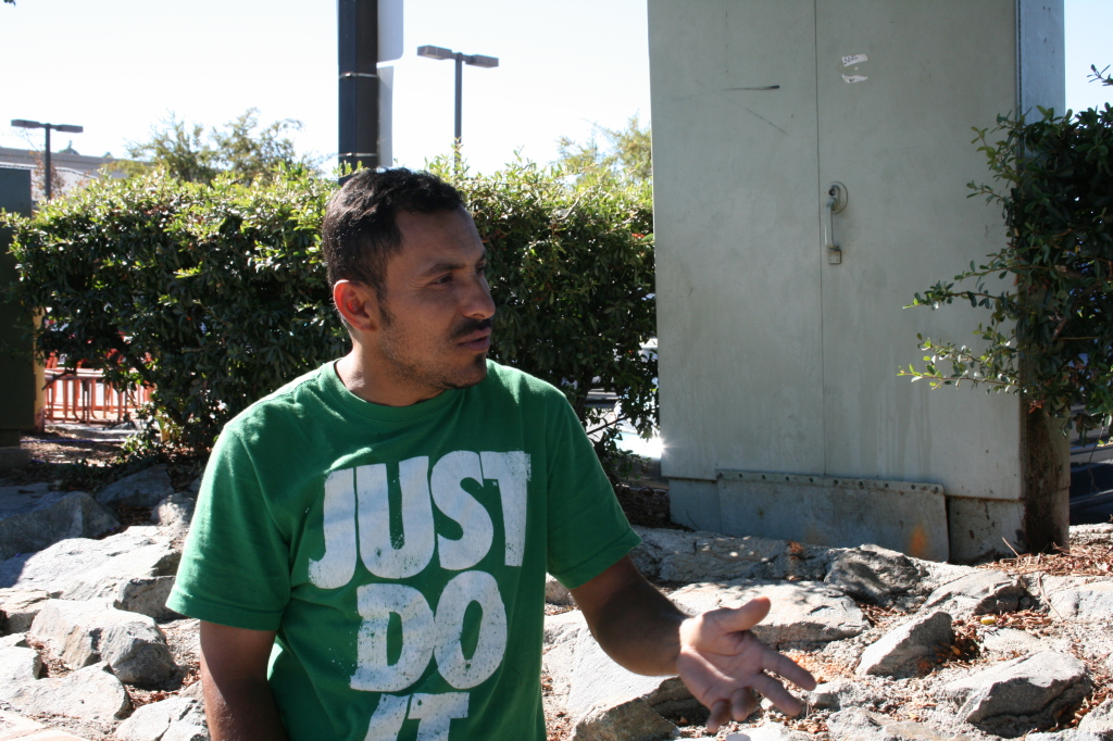 """Carlos"" recounts stories of hardship and not being paid for work done in the US."