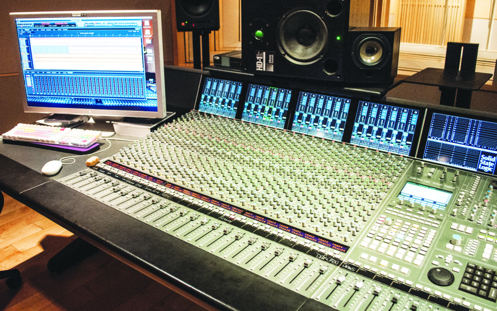 SMOOTH OPERATOR - A hidden gem, SWC's state-of-the-art $6 million recording studio will be the site of summer workshops. Past guests in the studio include Stevie Wonder and Will Calhoun. PHOTO BY April Abarrondo