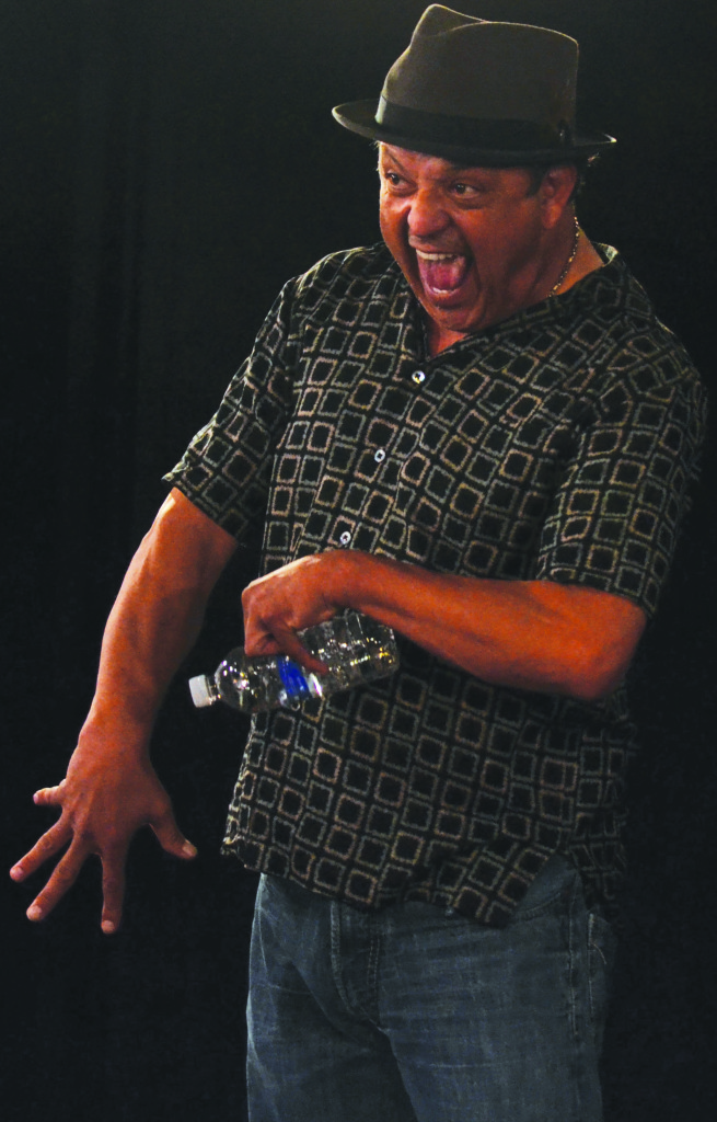SPECIAL GUEST STAR— Legendary comedian Paul Rodriguez entertained and inspired Bill Virchis' acting class. Photo by: Mariah Boyd