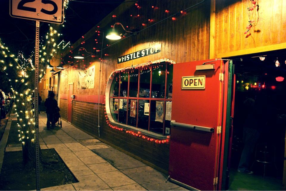 The Whistle Stop Bar in South Park is bustling with creativity, hosting events like VAMP.