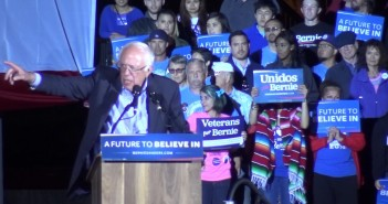 Bernie Sanders visits National City
