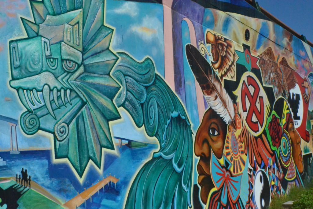The Corazon Of Barrio Logan The Murals Of Chicano Park